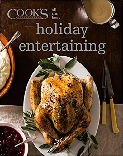 """Holiday Entertaining"" - America's Test Kitchen Book"
