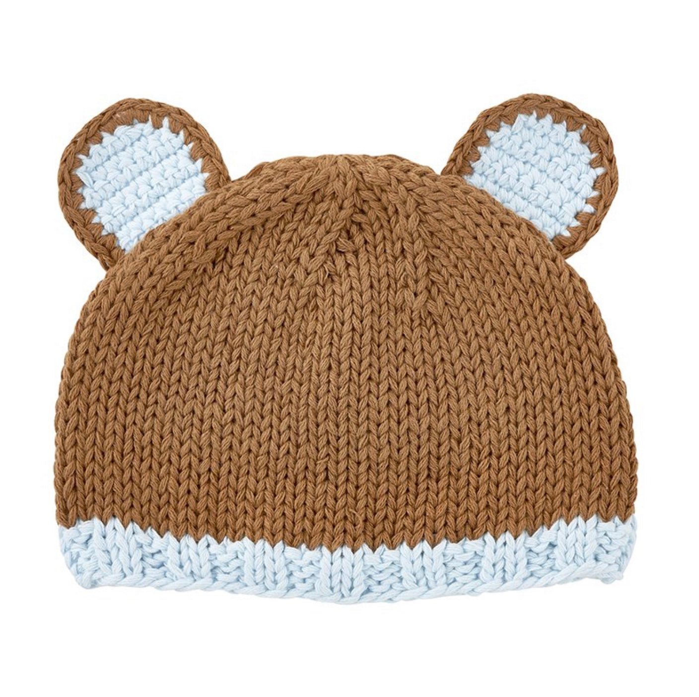 Knit Baby Brown Bear