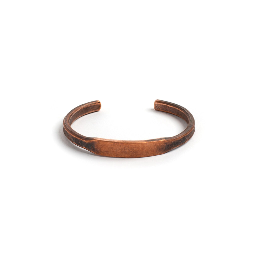 Copper ID Cuff - Large