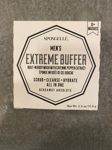 Spongelle Men's Extreme Buffer - Bergamot Absolute
