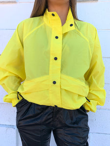 Windbreaker - Neon Yellow