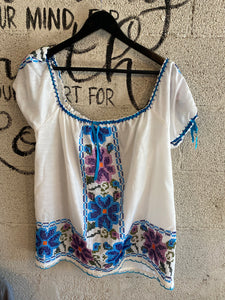 Embroidered Charro Top