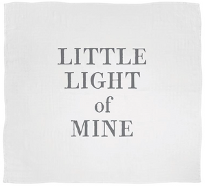 "Face To Face Swaddle Blanket - ""This Little Light of Mine"""