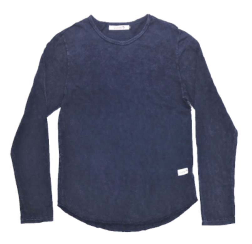 4 Corners Long Sleeve (Blue Mineral)
