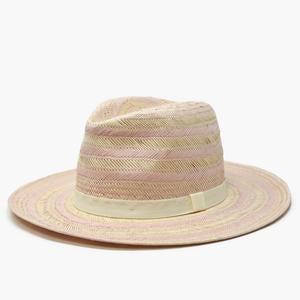 Amaia Striped Straw Hat