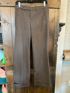 Vintage Striped Trousers