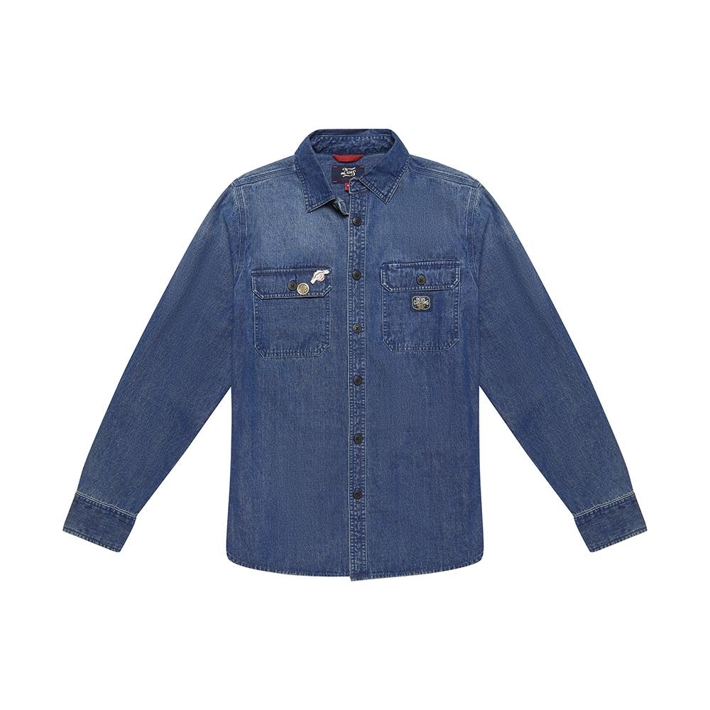 Workers Shirt - Indigo