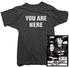 "Worn Free ""You Are Here"" John Lennon Tee"