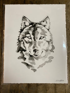 Good Wolf Print by Boho Bunnie