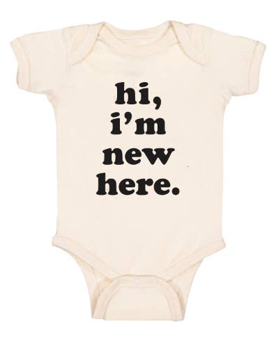 Hi, I'm new here Onesie