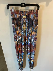 Feather Print Joggers - Wmns S