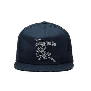 Across The Sea - Navy SnapBack