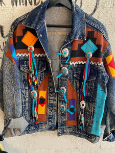Vintage Paiute Denim Jacket