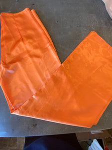 Vintage Orange Poly Pants