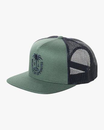 Palms Trucker - Green