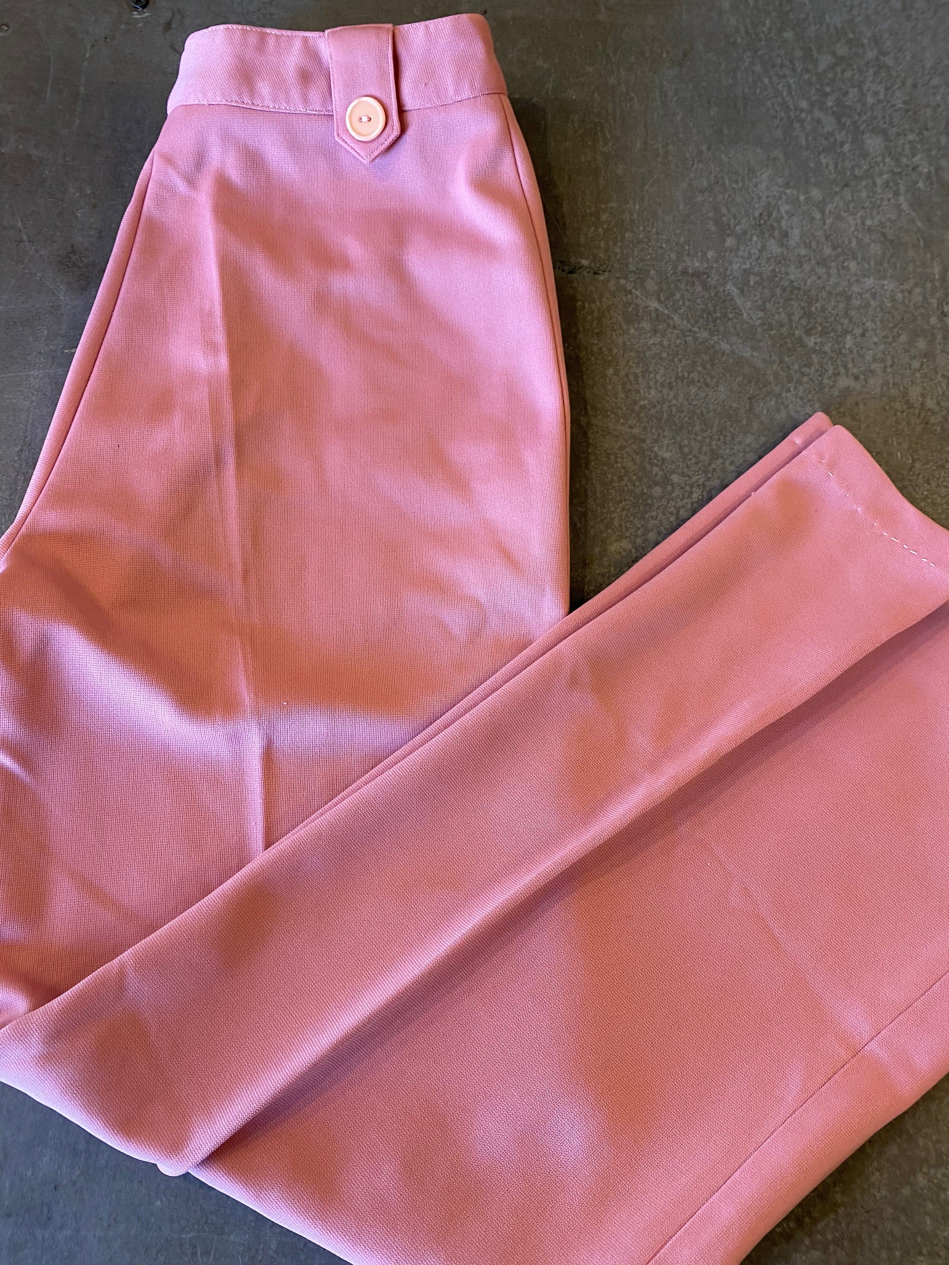 Vintage Pink High Waisted Pants