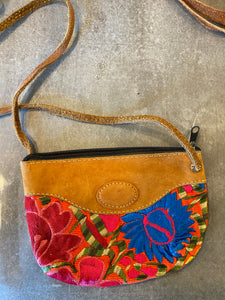 Floral Cross Body Bitty Bag
