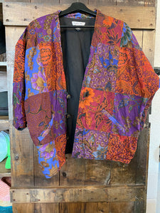 Vintage Quilted Kimono