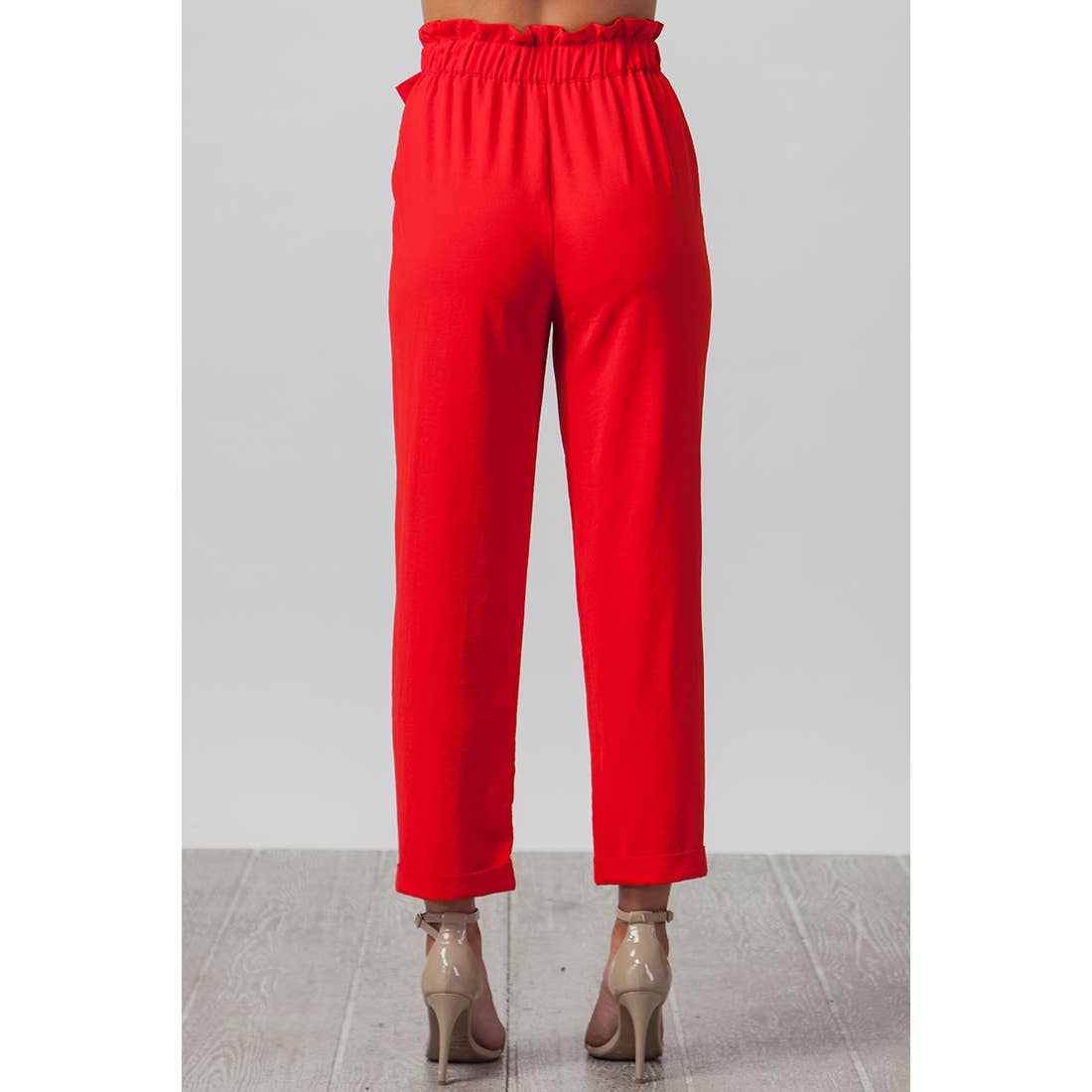 Solid Pants - Red
