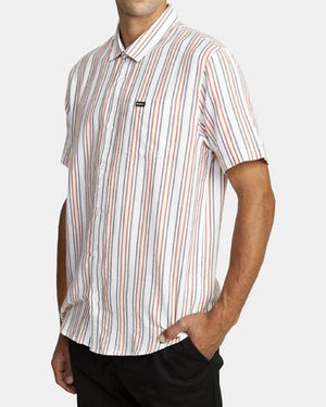 Topper Stripe Short Sleeve