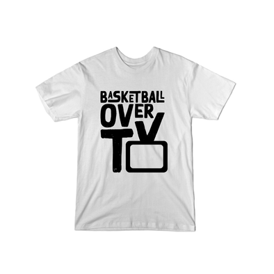 Basketball Over TV T-Shirt