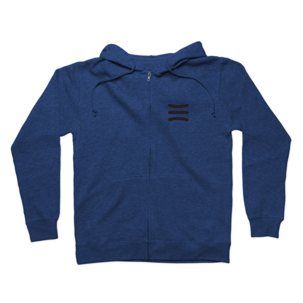 Handle Life 3 Stripes Zip Hoodie