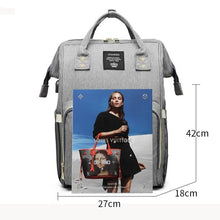 Load image into Gallery viewer, Large Capacity Baby Diaper Bag - Peril