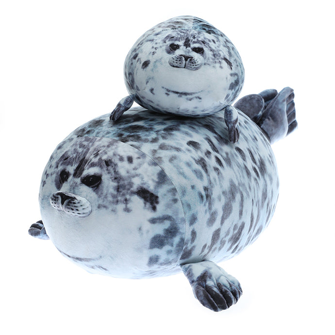 Soft Fluffy Plush Seal Pillow - Peril