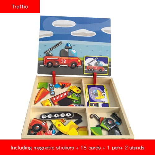 Magnetic Puzzle Set - Peril