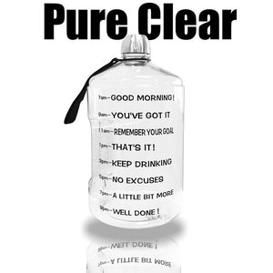 Clear Big Gallon Drinking Water Bottle - Peril