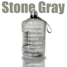 Load image into Gallery viewer, Clear Big Gallon Drinking Water Bottle - Peril