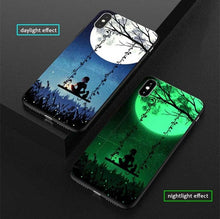 Load image into Gallery viewer, Luxury Luminous Painting Case for iPhone - Peril