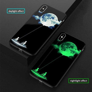 Luxury Luminous Painting Case for iPhone - Peril