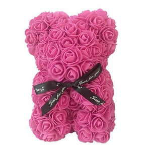 25 cm Rose Teddy Bear - Peril