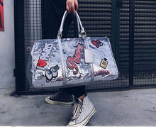Load image into Gallery viewer, Weekend Duffle Bag Sequin Design - Peril