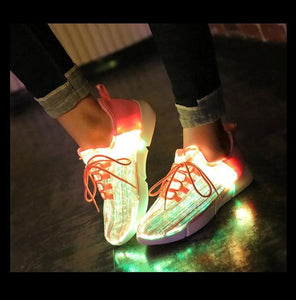 Unisex Fiber Optic Shoes - Peril