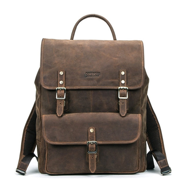 Leather Backpack for  Men - Peril