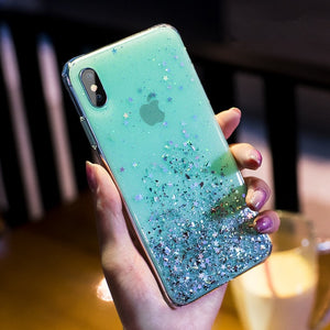 Luxury Bling Glitter Stars Sequins Case For iPhone - Peril