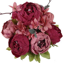 Load image into Gallery viewer, 13 Branches Big Rose Flowers - Decoration - Peril