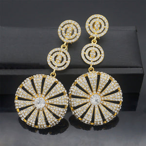 Gold Plated Earrings - Peril
