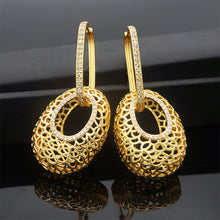 Load image into Gallery viewer, Gold Silver Plated Fashion Earrings - Peril