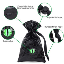 Load image into Gallery viewer, Dragon Eye Dice Drawstring Bag - Peril