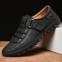 Load image into Gallery viewer, Men's Waterproof Comfortable Fashion Leather Loafers - Peril