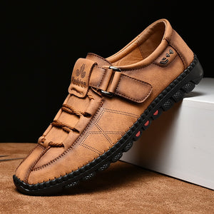 Men's Waterproof Comfortable Fashion Leather Loafers - Peril