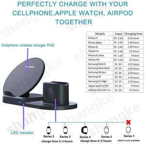 3 in 1 Wireless Charger - Peril