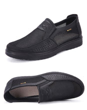 Load image into Gallery viewer, Men Casual Mesh Soft Slip On Hollow Out Shoes - Peril