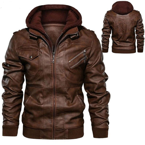 Men's Hooded Jacket - Peril