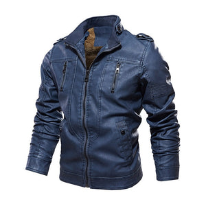 Windbreaker Genuine Leather Jacket