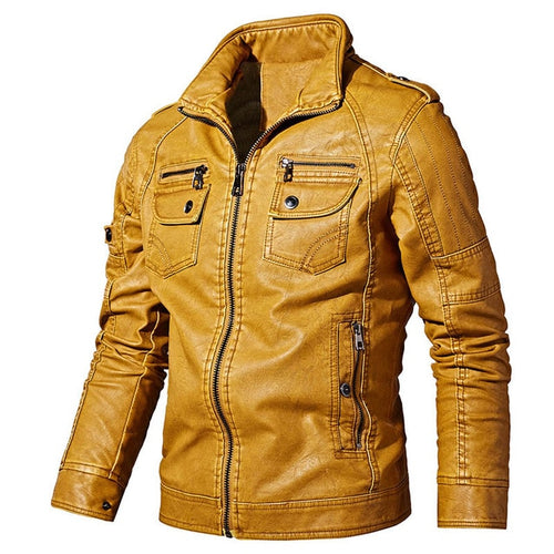 Tactical Leather Jacket - Peril