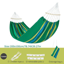 Load image into Gallery viewer, Hammock-Garden Swing Sleeping Bed Portable Outdoor Camping - Peril